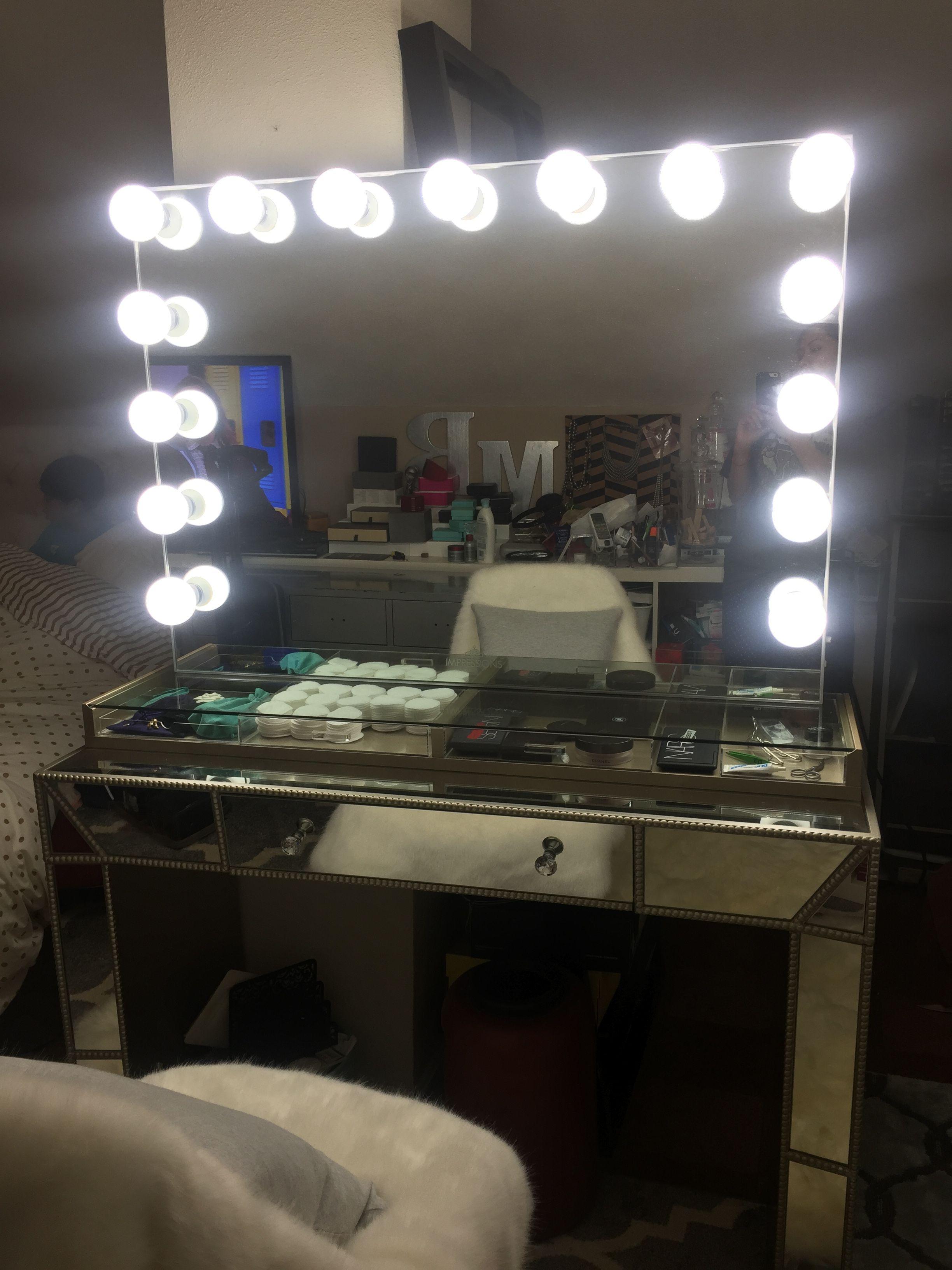 desk gruvan mirrored impressions ikea table vanity ekby trevi mirror pin