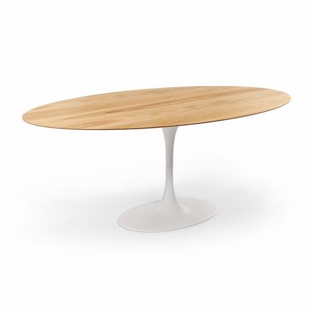 Saarinen Tulip Oval Dining Table American White Oak 78 X 47