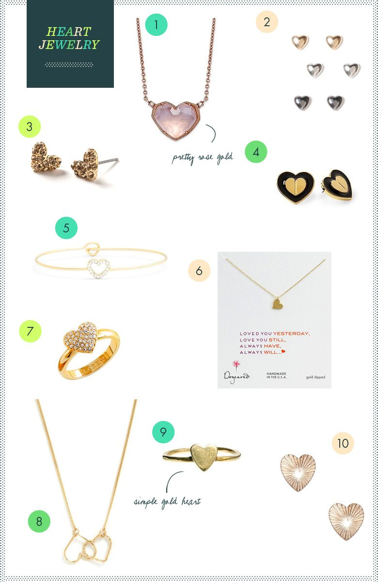REVEL: Top Ten Heart Jewelry Picks