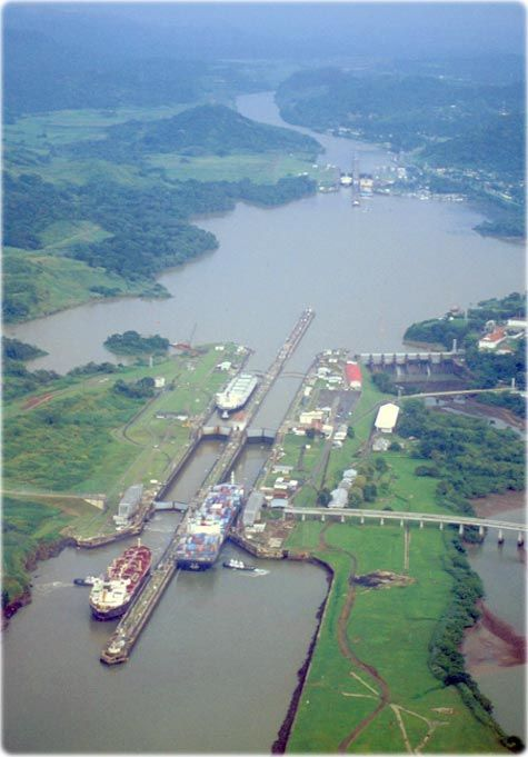 Going through the Panama Canal on a Cruise is on the Bucket List! Check ~ Complete! April 2015