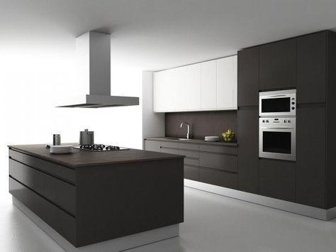 cocina moderna minimalista | Casas Minimalistas de un piso ...