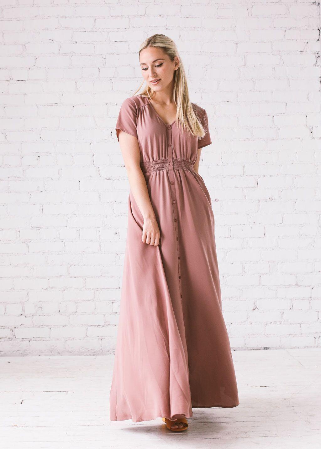38++ Dusty rose maxi dress ideas in 2021