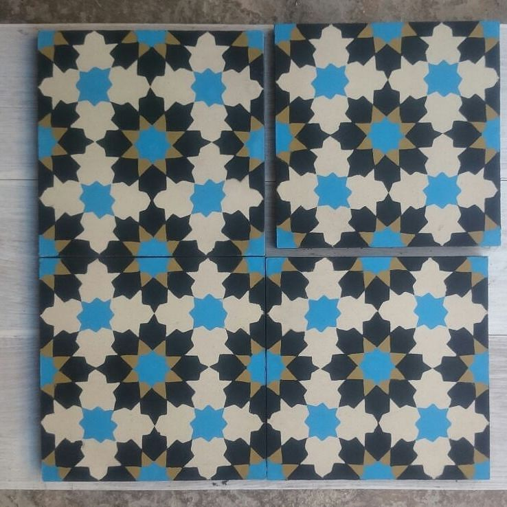 cement tiles ready to ship to #uae #tiles #design #art #beautiful ...