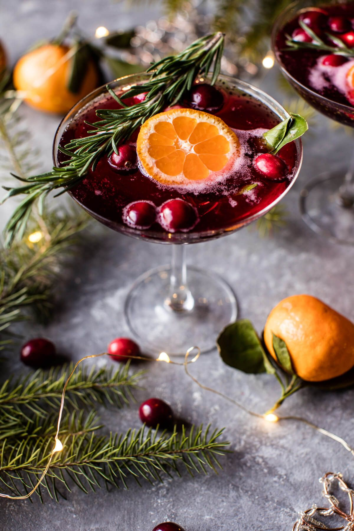 Poinsettia Spritz Punch - Recipe - Poinsettia, Beverage And Half