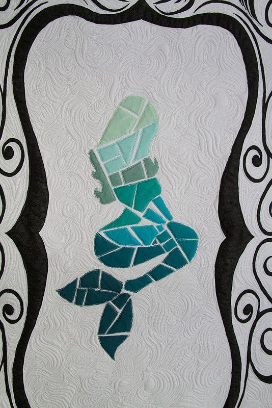 Want to do. Sea Glass Mermaid Quilt | a loka dos bordadinhos ...