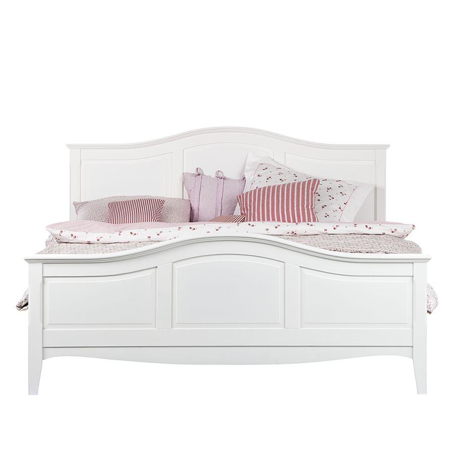 Bett Aus Der Serie Giselle In Weiss 140 X 200 Cm Home24 Bett Einzelbett Franzosisches Bett