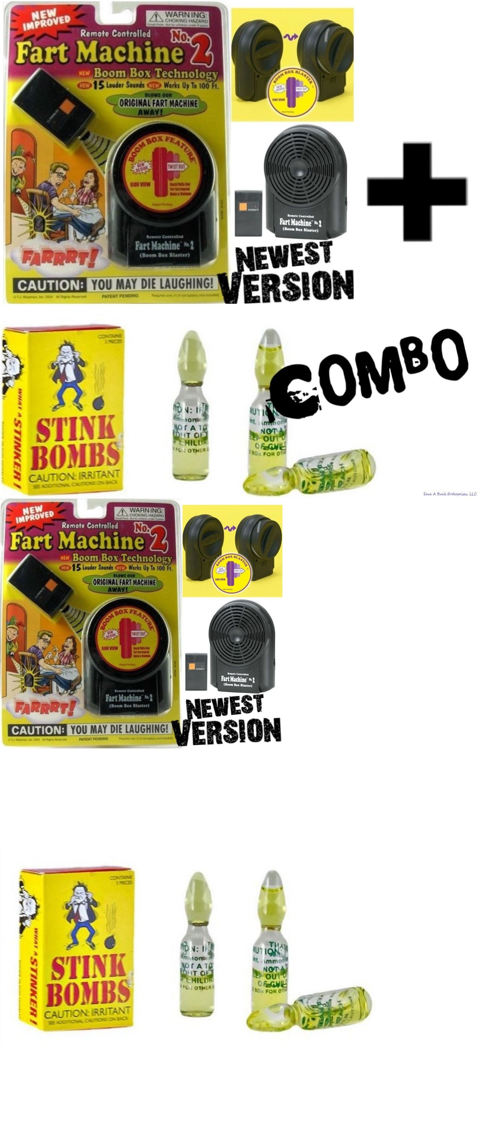 Fart Machine Remote Controlled with 15 Awesome Sounds Battery Operated Fun Toy