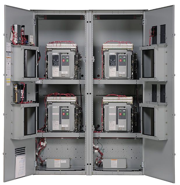 Transfer Switch Automatic Manual Ranging 100 To 4000 Amps