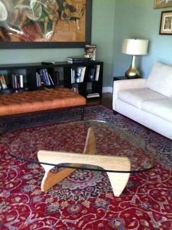 noguchi glass coffee table - $245 | craigslist | pinterest