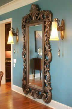 espelhos antigos grandes - Pesquisa Google