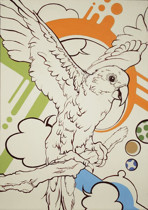 animal on Illustration Served