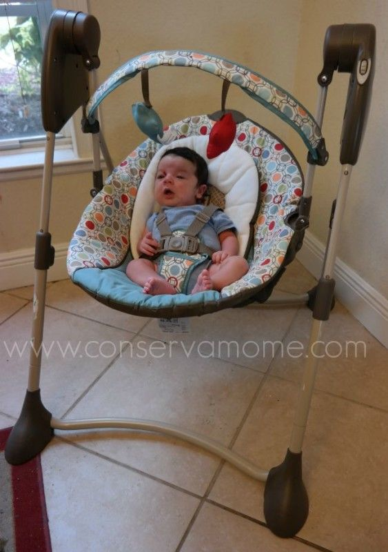 Graco - Swing by Me Portable 2-in-1 Swing Review | Swings and Giveaway