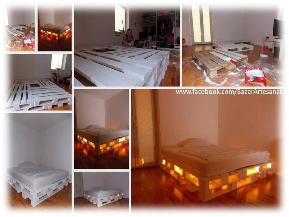 cama+de+palets+paso+a+paso.jpg (960×720)   Deco   Pinterest   Sala ...