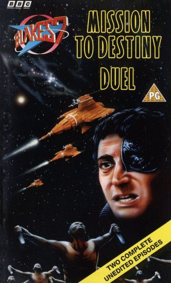 Blake's 7 VHS cover -Mission to Destiny/Duel