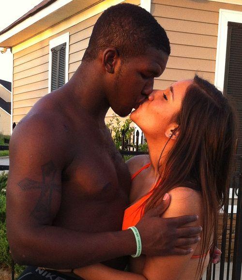Black Men Kissing White Girls