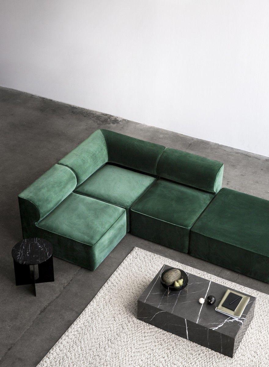 Marble Plinth Modular Sofa Furniture