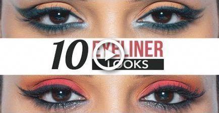 10 neue eyeliner looks für jeden tag  augen makeup