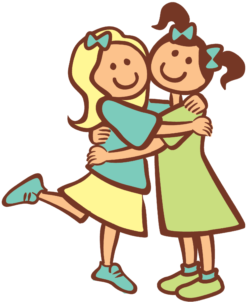 e-friendship (the end) | friend cartoon, hug cartoon, friends hugging  pinterest
