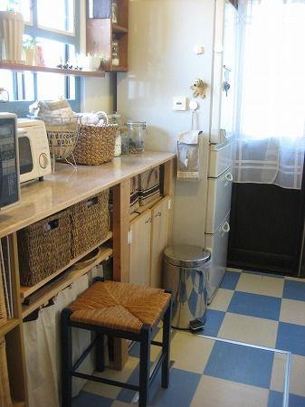 キッチンの今と昔 キッチン収納家具 インテリア キッチン
