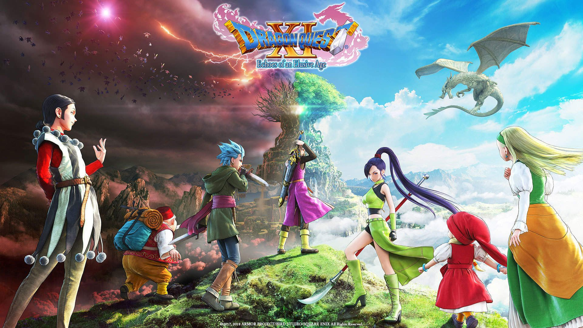 Dragon Quest Xi Echoes Of An Elusive Age Digital Edition Of Light On Steam Dragon Quest Dragon Classic Rpg