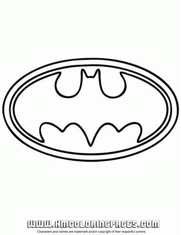 batman free printable logo for