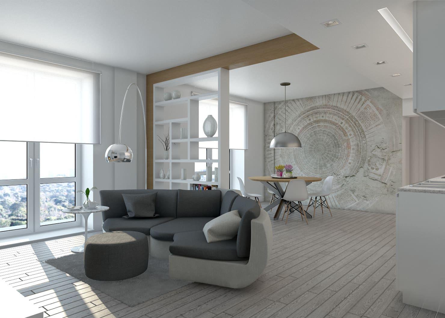 14 Ideen für ein graues Wohnzimmer, das neidisch macht