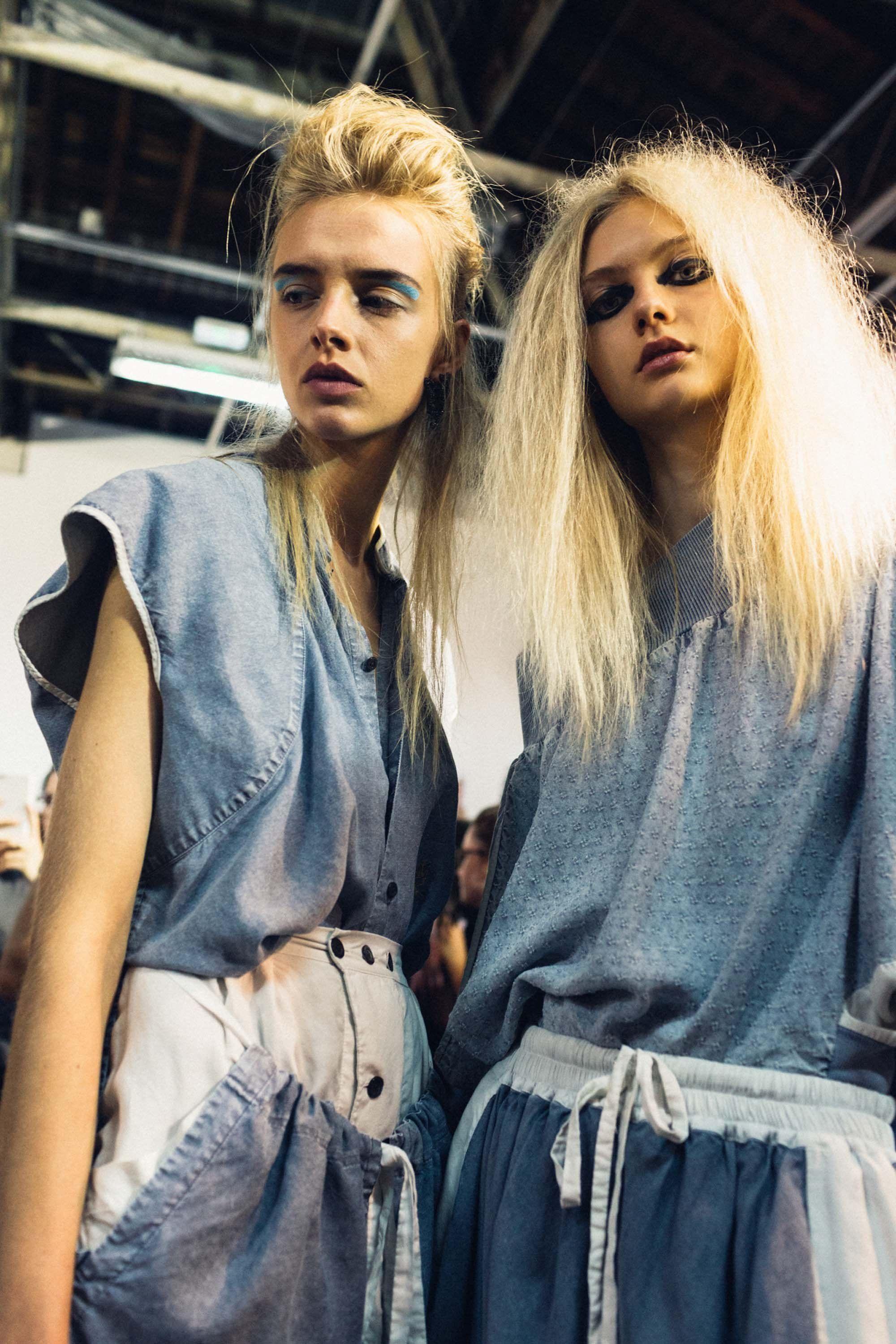 Our Best Behind The Scenes Photos From Paris Fashion Week Stil Moda Boho