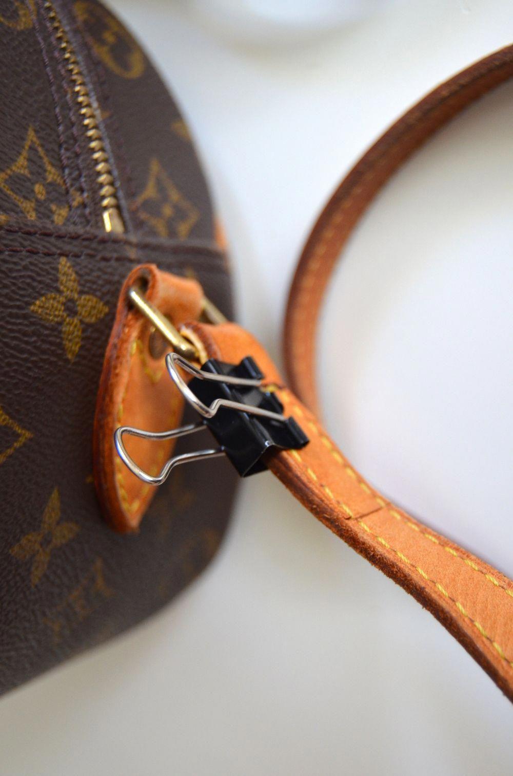 fb7a8f5c6dea how to fix fixing torn ripped broken Louis Vuitton shoulder strap   Louisvuittonhandbags. Visit. January 2019