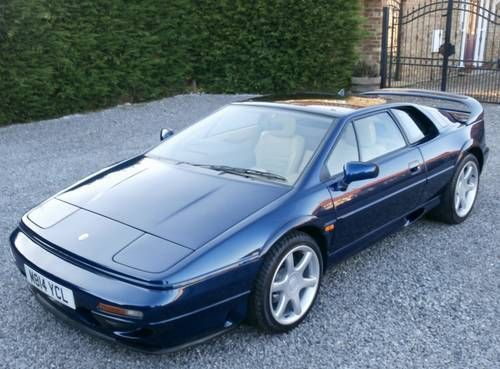 Lotus Esprit S4 Turbo Charge Cooled Fsh For Sale 1994 Shabby