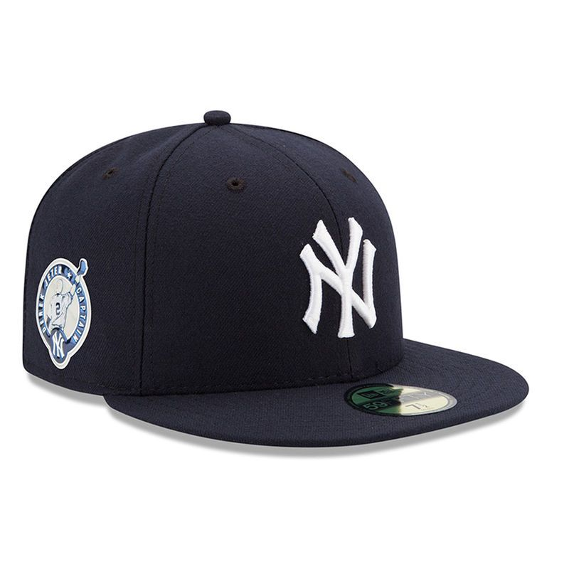 Derek Jeter New York Yankees New Era Number Retirement 59fifty Fitted Hat Navy Products Gorras