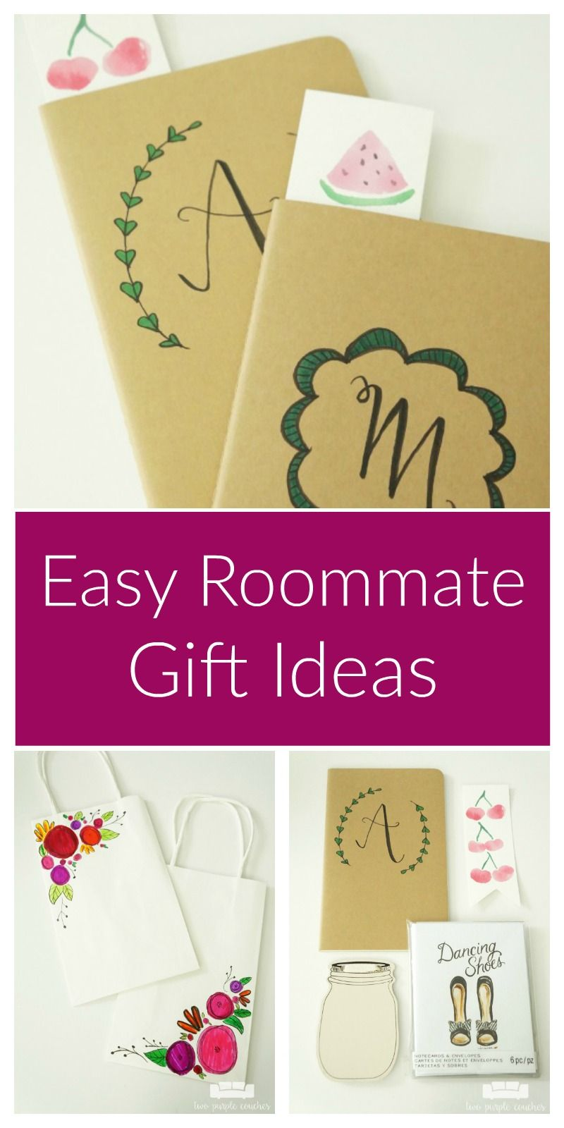 Easy blog conference roommate gifts creative spark diy - Gifts for small apartments ...