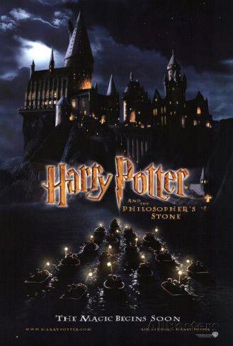 Harry Potter Und Der Stein Der Weisen Foto Bei Allposters De Harry Potter Poster Harry Potter Film Stein Der Weisen