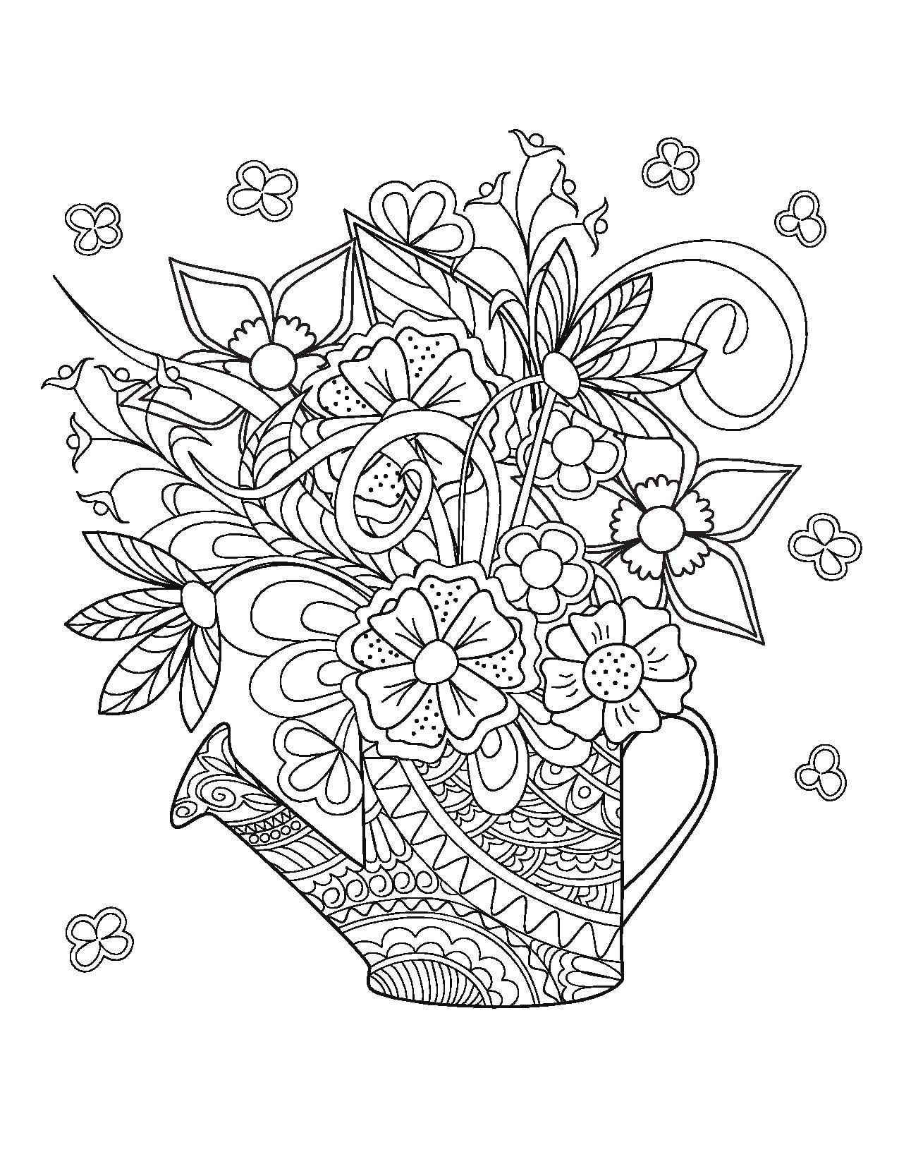 Adult Coloring For The Bride To Be Live Your Life In Color Series