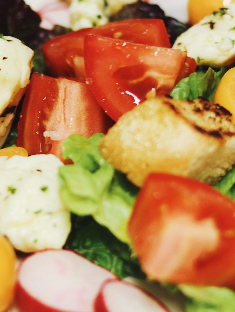 Goldenberry Cheese Curd Panzanella Salad Recipe Panzanella Salad Salad Curd