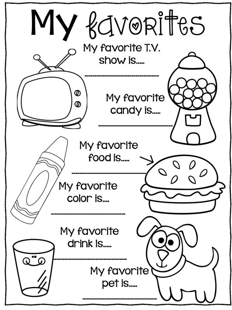 Pin By Professional Educators On Activites Par Theme All About Me Preschool All About Me Preschool Theme All About Me Booklet [ 1024 x 768 Pixel ]