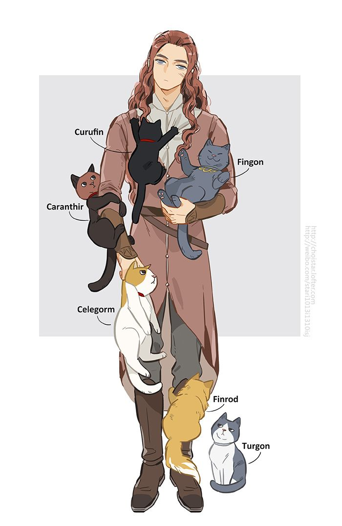 Maedhros and cats 3 by choistar middle earth seigneur des anneaux seigneur - Dessin seigneur des anneaux ...