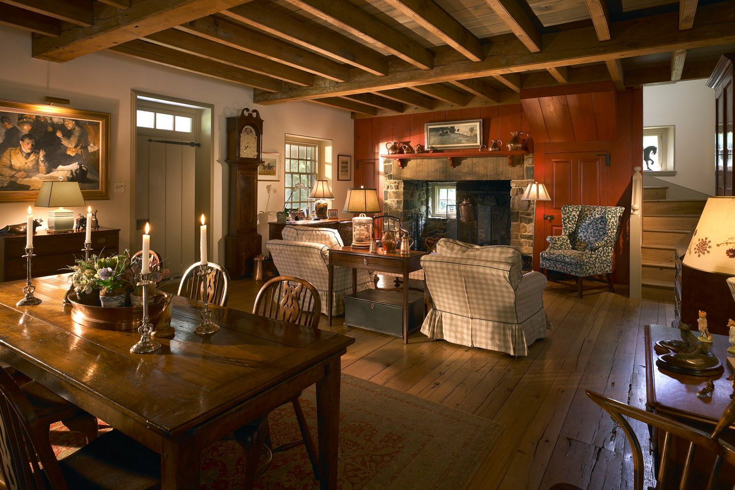 American Country Cottage Decorating: Design & Preservation