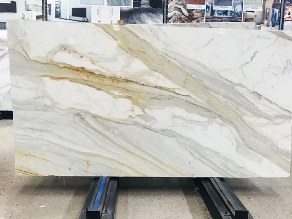 Calacatta Gold Marble Slab For Decoration Fulei Stone In 2020 Calacatta Gold Marble Marble Slab Gold Marble