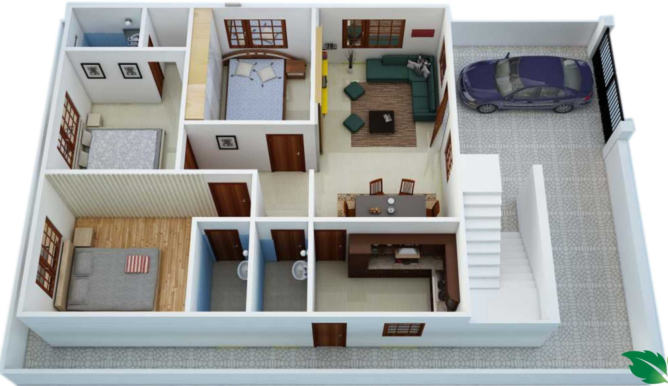 1800 Sq Ft House Plans With Walkout Basement In 2020 1200 Sq Ft House Small House Design House Plans