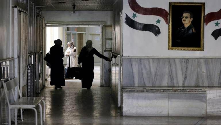 حين قال مدير مشفى الأسد لمريضة كورونا خلوها تموت Formal