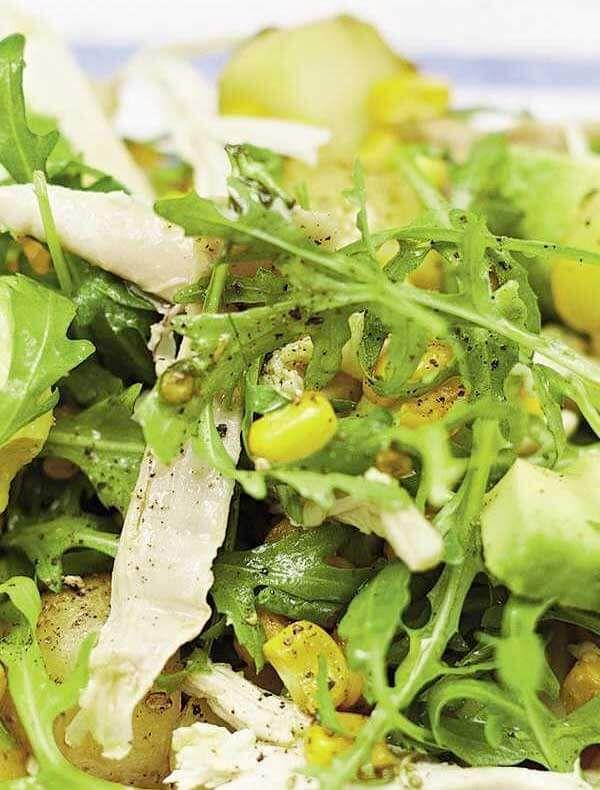 Jamies Chicken Sweetcorn Potato Salad