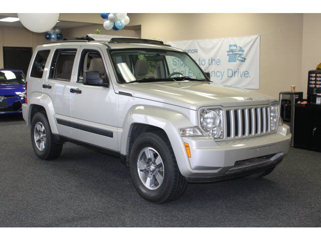2008 Jeep Liberty Sport Bright Silver Metallic Beaverton Or