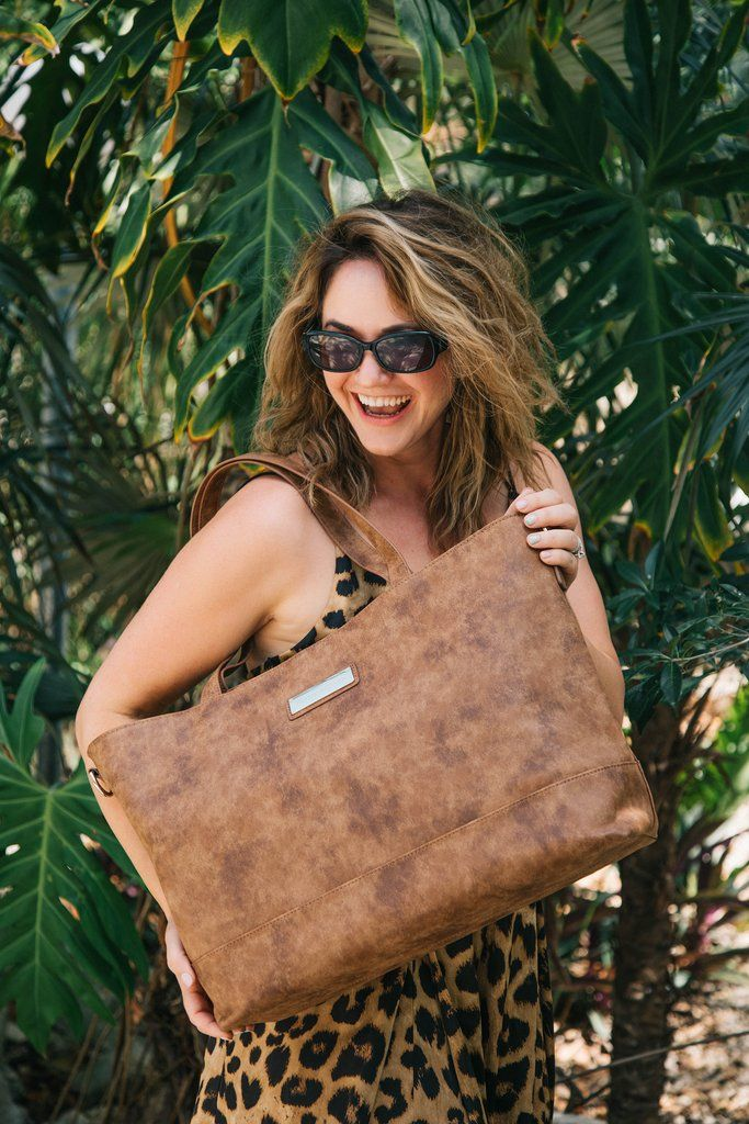 Autumn Cinnamon-The Roam and Rise Carryall - House of Flynn