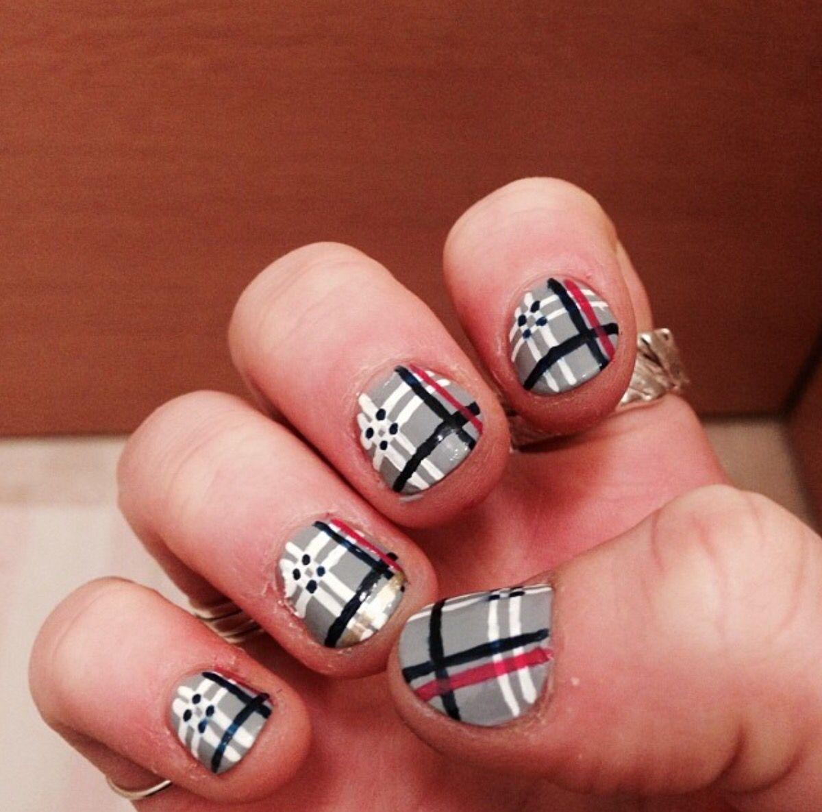 Tartan nails!