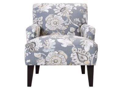 Best Chairs Inc Kelsie Accent Chair Gray L 29 50 W 34 400 x 300