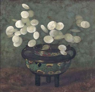 Judaspenning in Japanse vaas, 1915
