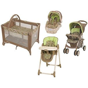 Graco Lively Dots Collection Baby Gear Collection Bundle