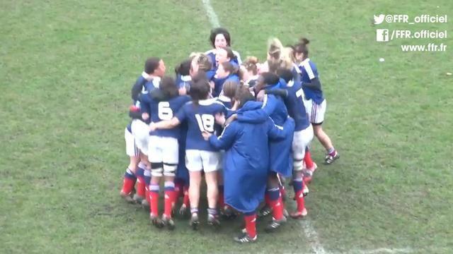 Shanon Izar et Marion Lièvre font la misère au Pays de Galles - Le Rugbynistère - 25/02/2014