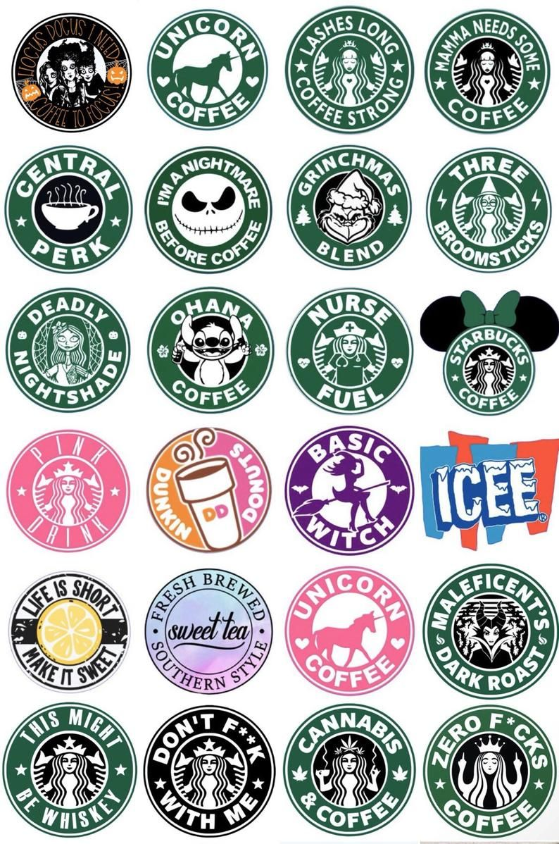 Starbucks Keychains-Miniature Drink charm keychain