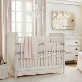 Beautiful pink baby girls room!